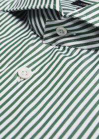 Cotton Stripe Collar Dress Shirt, thumbnail 2