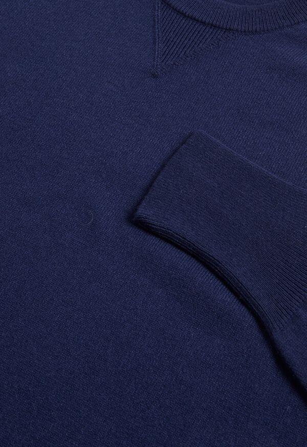 Single Ply Cashmere Sweatshirt, image 7