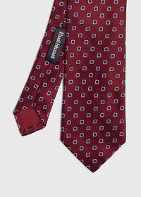 Small Medallion Silk Tie, thumbnail 1