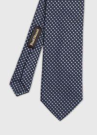 Textured Ground Jacquard Dot Tie, thumbnail 1
