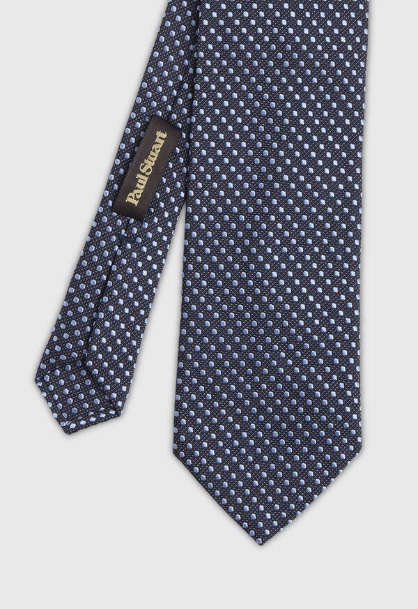 Textured Ground Jacquard Dot Tie, image 1