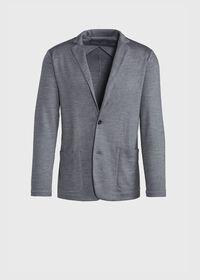 Wool Lightweight Travel Jacket, thumbnail 1