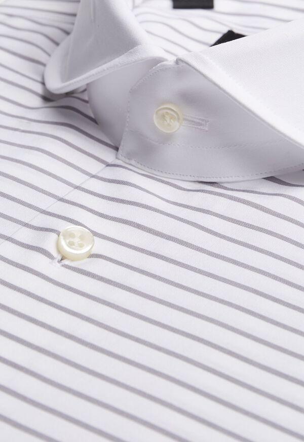 Horizontal Stripe Dress Shirt, image 2