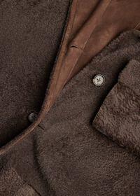 Reversible Lightweight Shearling Coat, thumbnail 4