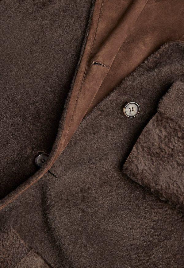 Reversible Lightweight Shearling Coat, image 4
