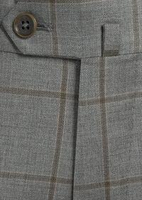 Wool Windowpane Suit, thumbnail 5