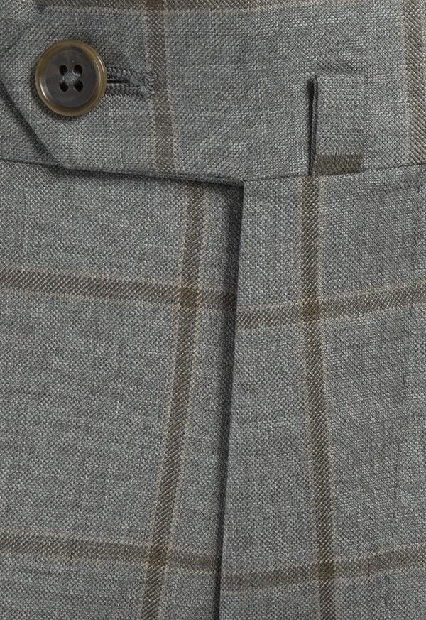 Wool Windowpane Suit, image 5
