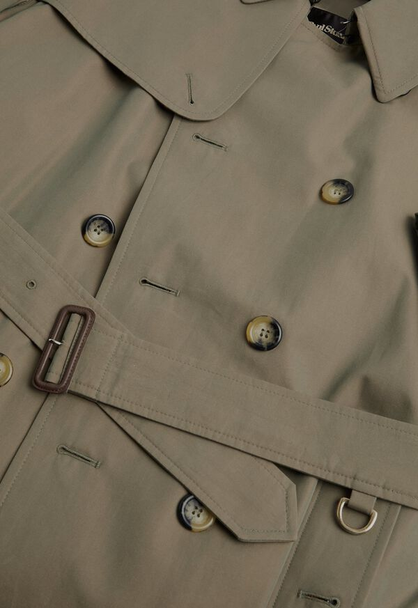 Double Breasted Classic Trench, image 3