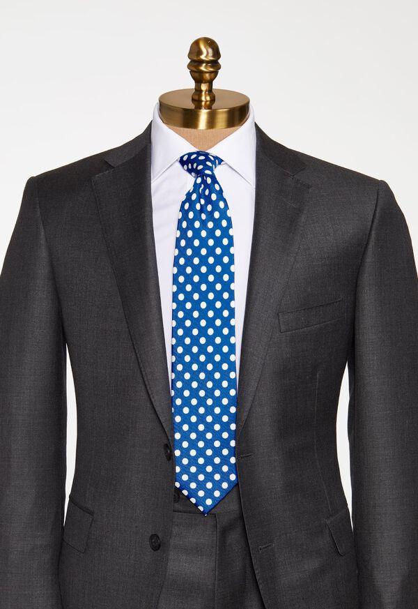 Large Dot Silk Tie, image 2