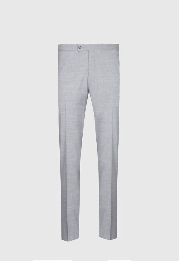 Light Grey Mini Houndstooth Wool Blend suit, image 5