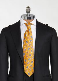 Deco Print Ovals Tie, thumbnail 2