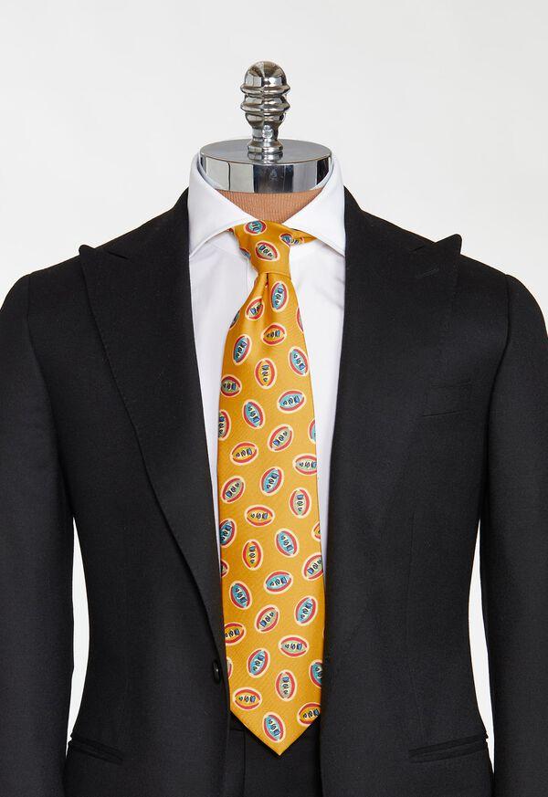 Deco Print Ovals Tie, image 2