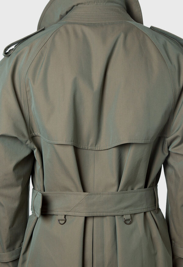 Double Breasted Classic Trench, image 9