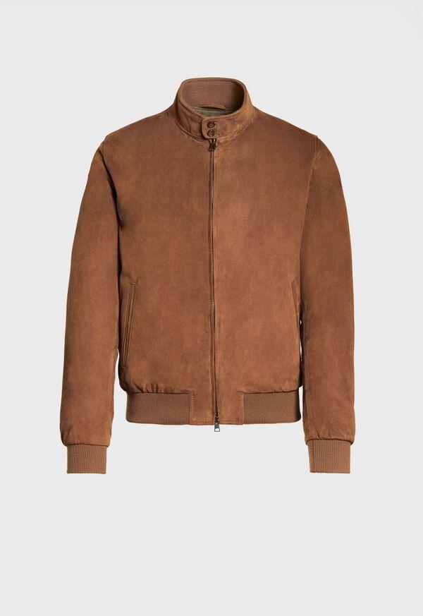 Suede Blouson Jacket, image 1