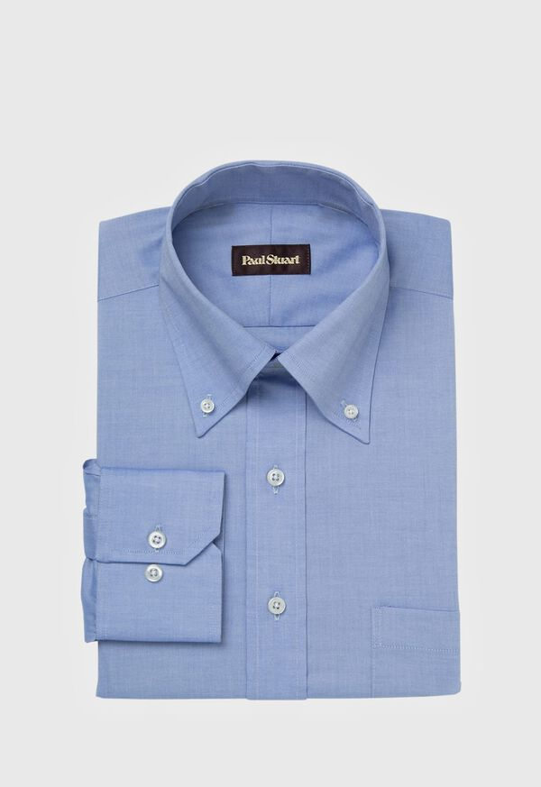 Blue Sea Island Cotton Dress Shirt, image 1