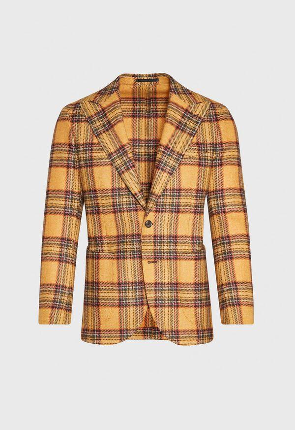 Plaid Soft Jacket, image 1