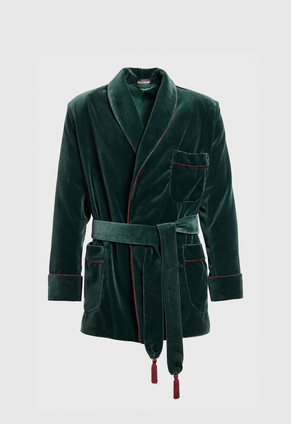 Velvet Smoking Jacket, image 1