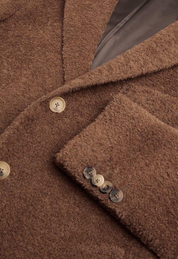 Camel Long Hair Overcoat, image 3