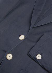 Herringbone Cotton Blend Blazer, thumbnail 2