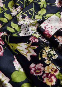 Floral Silk Robe, thumbnail 2