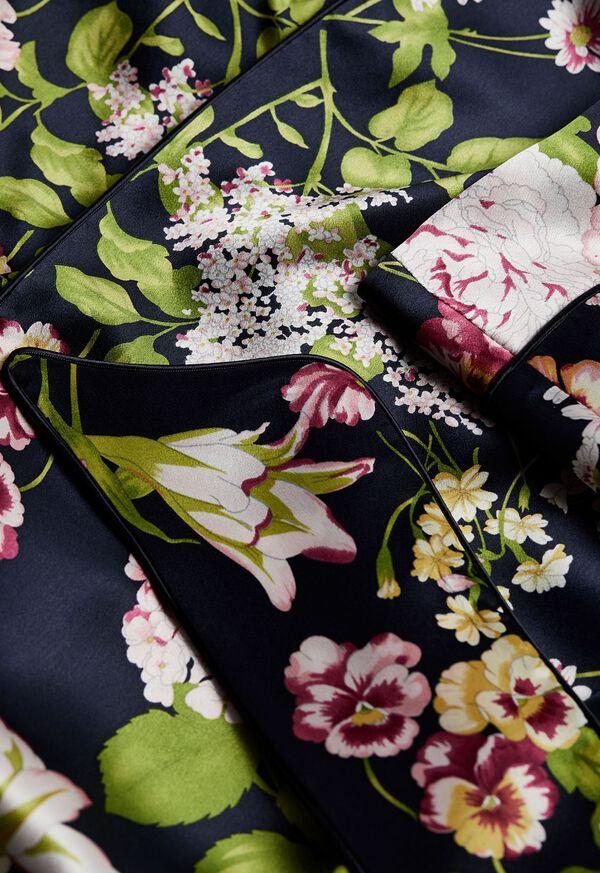 Floral Silk Robe, image 2