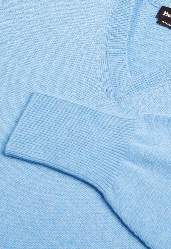 Scottish Cashmere V-Neck Sweater, image 41
