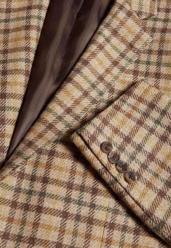 Paul Fit Wool Plaid Sport Jacket, image 3