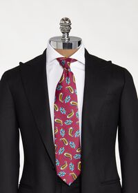 Printed Scattered Paisley Tie, thumbnail 2