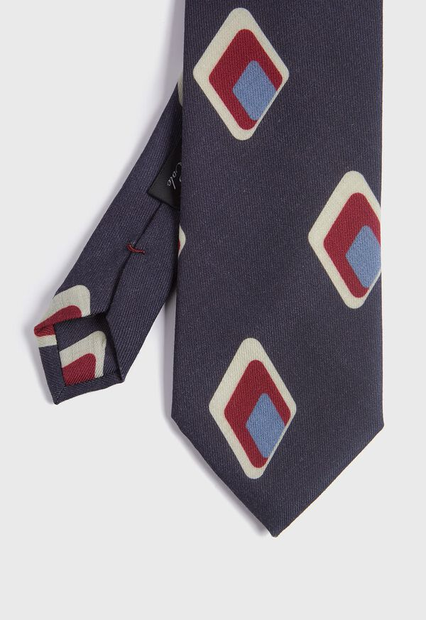 Deco Diamond Wool Tie, image 1