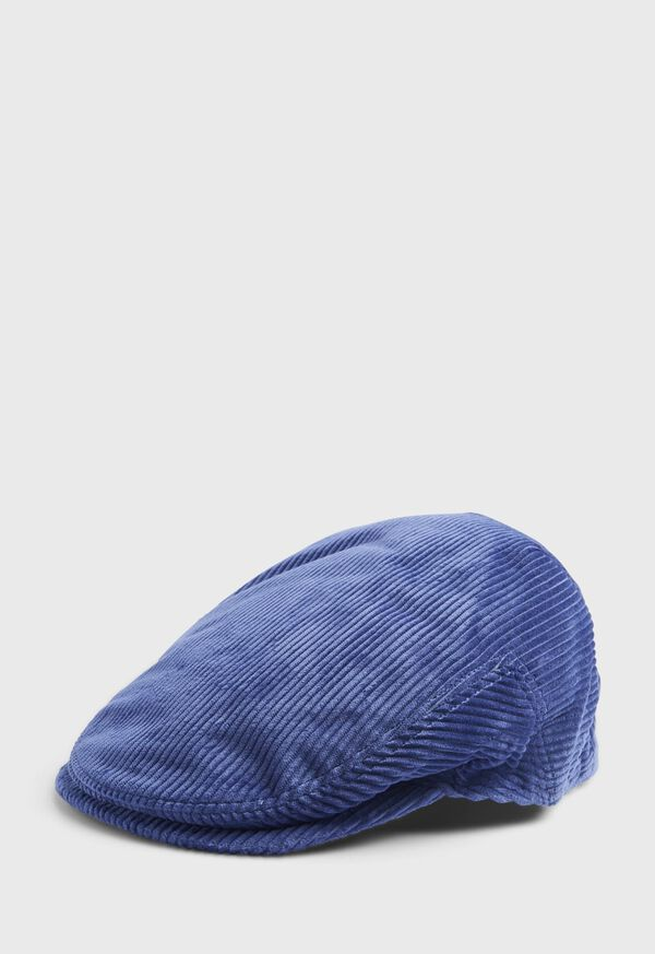 Cotton Wide Wale Corduroy Cap, image 1