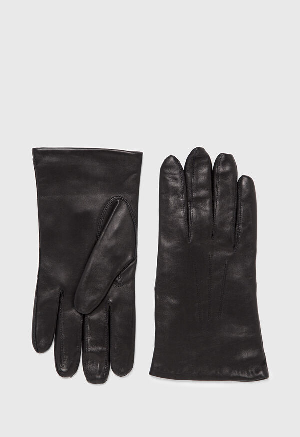 Lambskin Cashmere Lined Gloves, image 1