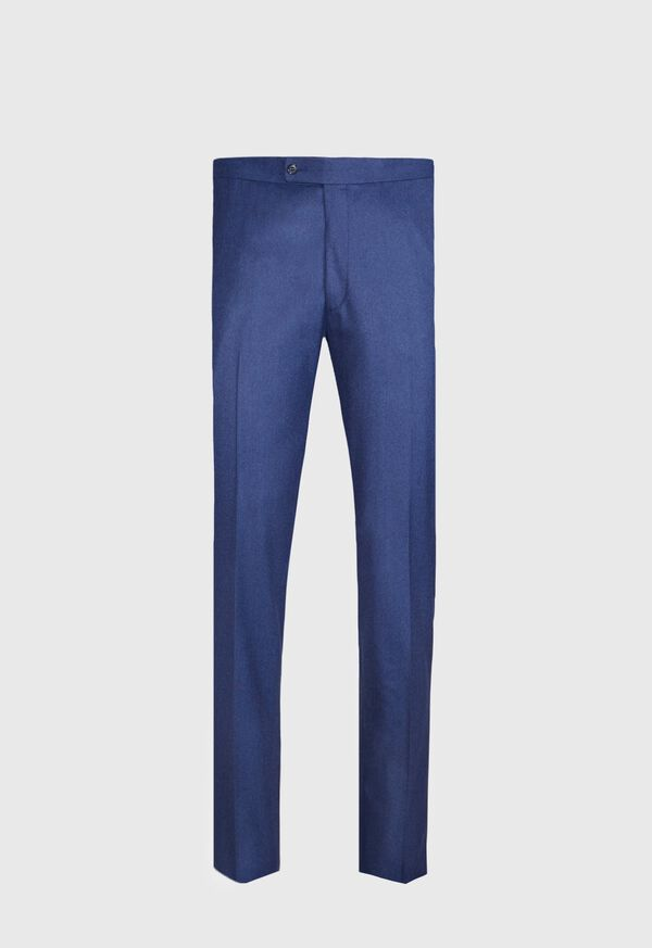 Solid Mid Blue 120s Pant, image 1