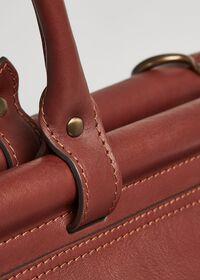 Bridle Leather Carpet Bag, thumbnail 2