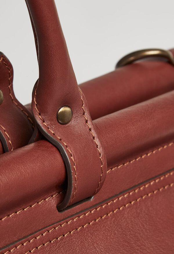 Bridle Leather Carpet Bag, image 2