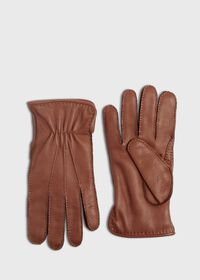 Deerskin Leather Glove with Cashmere Lining, thumbnail 1