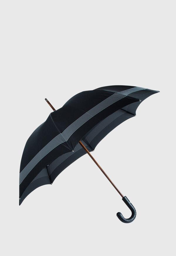 Solid Umbrella with Multi Line Edges, image 1
