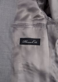 Light Grey Mini Houndstooth Wool Blend suit, thumbnail 4
