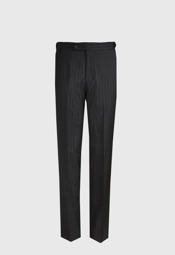 Black and White Chalk Stripe Suit, image 5