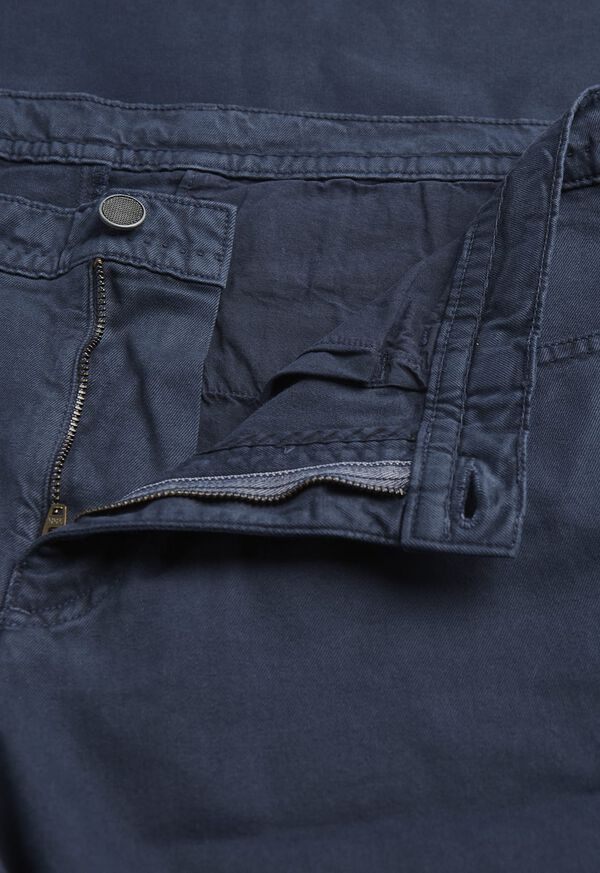 Pima Cotton All Year-Round Hybrid 5-Pocket Pant, image 2