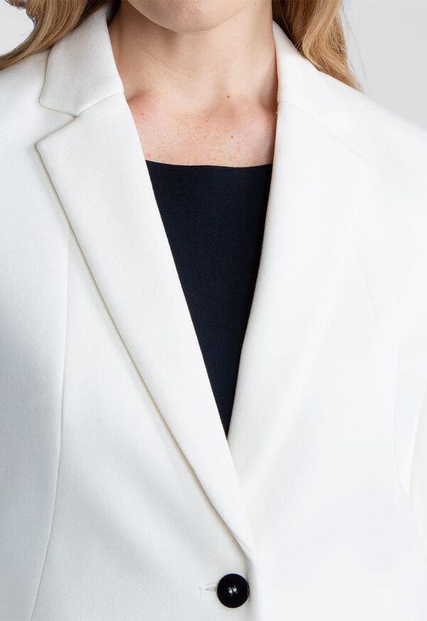Striped Two Button Blazer, image 2