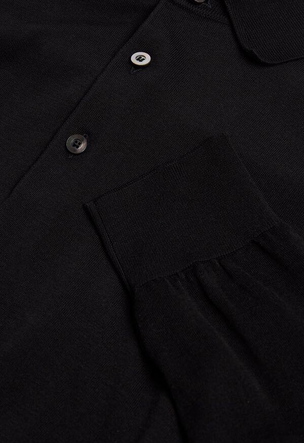 Long Sleeve Cotton Polo, image 2