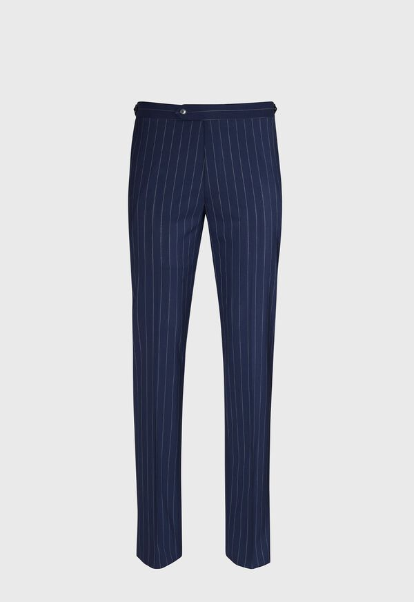Navy and White Stripe Travel Suit, image 5