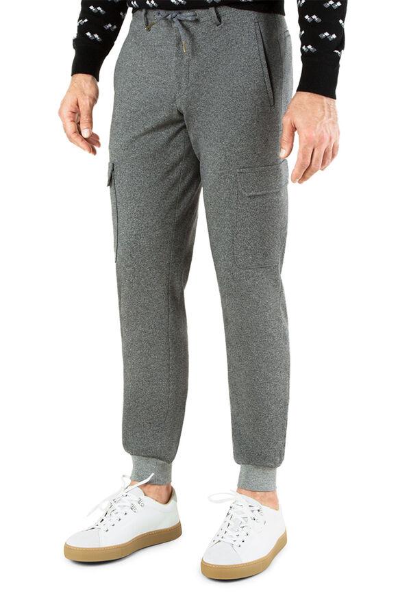 Cotton Jersey Jogger, image 1