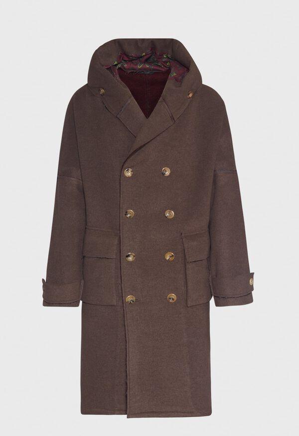Brown & Burgundy Coat, image 1