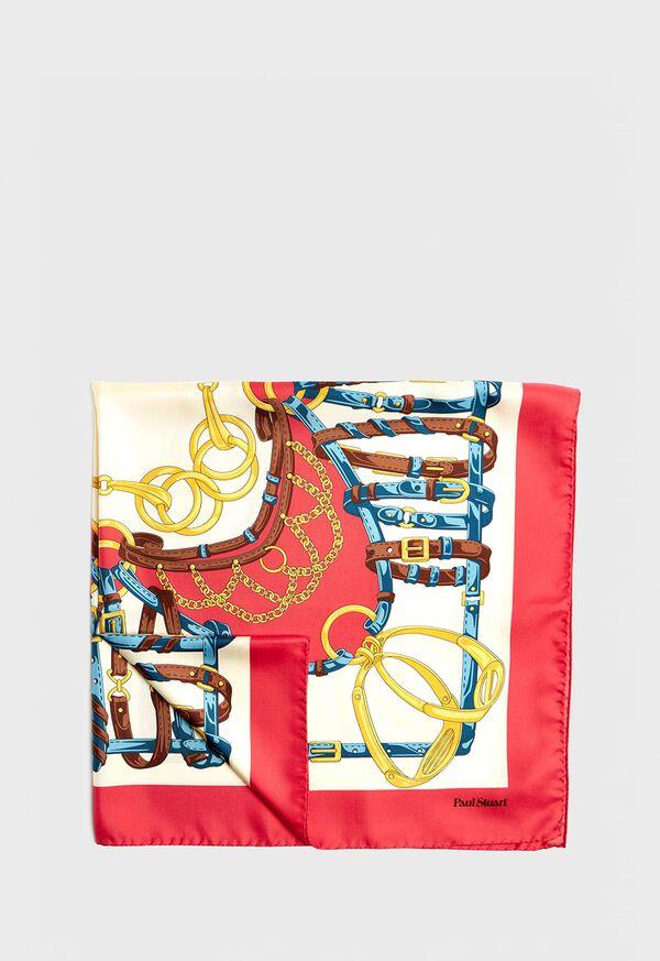 Belt Foulard Silk Scarf, image 1
