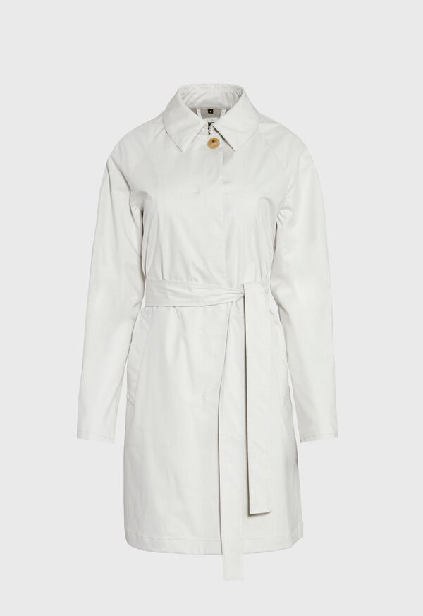 Classic Belted Trench Coat, image 1