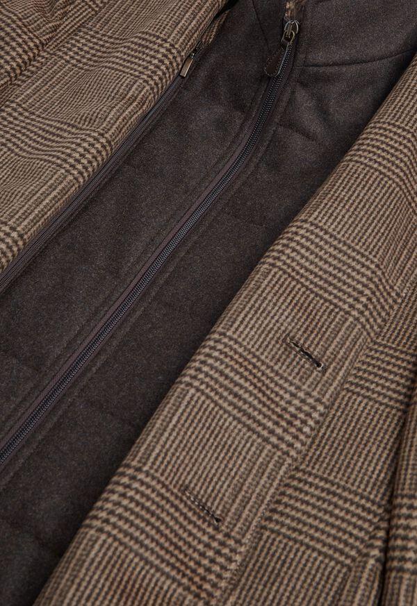 Plaid Coat with Zip-Out Vest, image 4