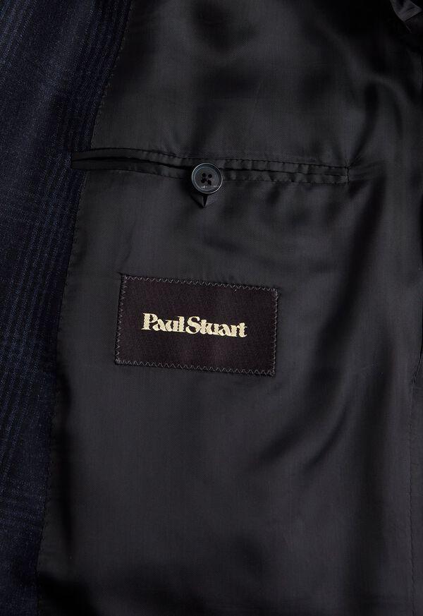 Super 150s Wool Plaid Suit, image 4