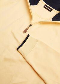 Pima Cotton 1/2 Zip Sweater, thumbnail 2