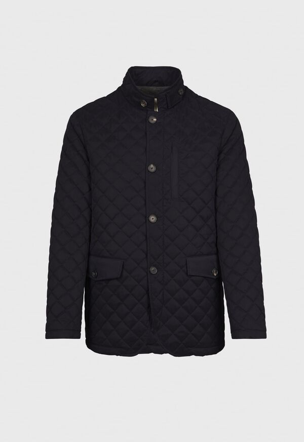 Belsetta Quilted Field Coat, image 1